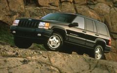 1997 Jeep Grand Cherokee exterior