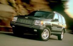 1998 Jeep Grand Cherokee exterior