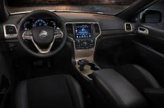 2015 Jeep Grand Cherokee interior