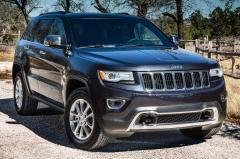 2017 Jeep Grand Cherokee exterior