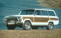 1990 Jeep Grand Wagoneer exterior