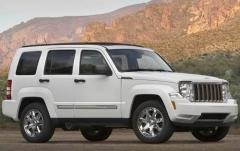 2012 Jeep Liberty Limited 2WD exterior