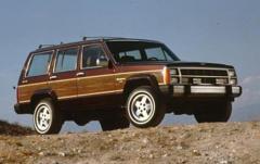 1990 Jeep Wagoneer exterior