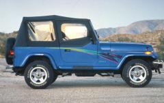 1992 Jeep Wrangler exterior