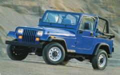 1993 Jeep Wrangler exterior