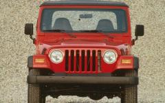 1998 Jeep Wrangler exterior