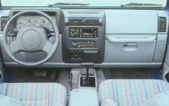 1999 Jeep Wrangler interior