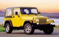 2000 Jeep Wrangler exterior