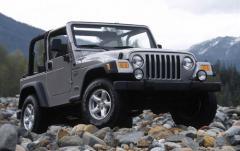 2002 Jeep Wrangler exterior