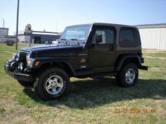 2002 Jeep Wrangler Photo 3