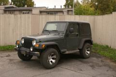 2003 Jeep Wrangler Photo 2