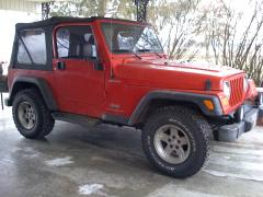 2004 Jeep Wrangler SE Photo 3