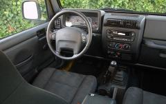 2004 Jeep Wrangler SE interior