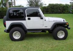 2005 Jeep Wrangler X Photo 4