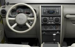 2007 Jeep Wrangler interior