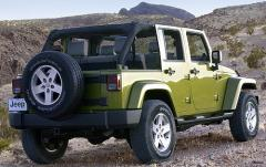 2007 Jeep Wrangler exterior