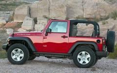 2009 Jeep Wrangler exterior