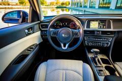 2017 Kia Optima Hybrid interior