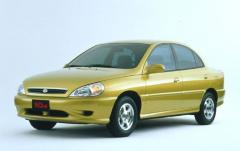 2001 Kia Rio exterior