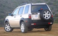 2002 Land Rover Freelander exterior