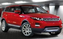 2012 Land Rover Range Rover Evoque exterior