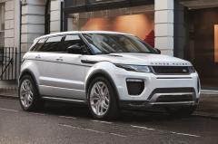 2017 Land Rover Range Rover Evoque exterior