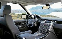 2006 Land Rover Range Rover Sport HSE interior
