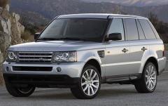 2008 Land Rover Range Rover Sport exterior