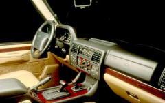 1990 Land Rover Range Rover interior