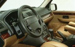1997 Land Rover Range Rover interior