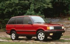 2000 Land Rover Range Rover exterior