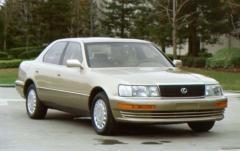 1992 Lexus LS 400 exterior