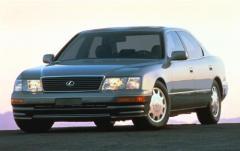 1995 Lexus LS 400 exterior