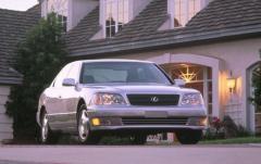 1999 Lexus LS 400 exterior