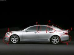 2009 Lexus LS 460 Photo 8