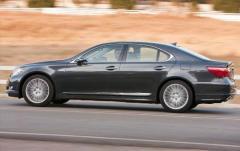 2011 Lexus LS 460 exterior