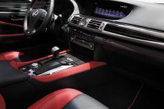 2015 Lexus LS 460 interior