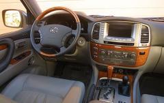 2005 Lexus LX 470 interior
