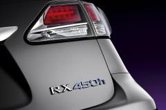 2013 Lexus RX 450h exterior