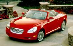 2002 Lexus SC 430 exterior