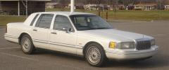 1992 Lincoln Continental Photo 1