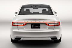 2017 Lincoln Continental exterior