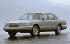 1993 Lincoln Town Car Photo 1