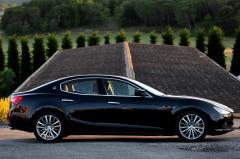 2015 Maserati Ghibli exterior