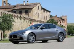 2017 Maserati Ghibli exterior