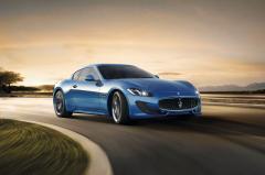 2015 Maserati GranTurismo exterior