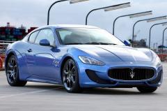 2016 Maserati GranTurismo exterior