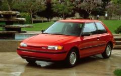 1992 Mazda 323 exterior