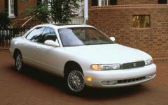 1992 Mazda 929 exterior