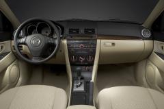 2005 Mazda MAZDA3 interior